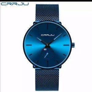 New Men Women Fashion Unisex Ultra Thin Wristwatch